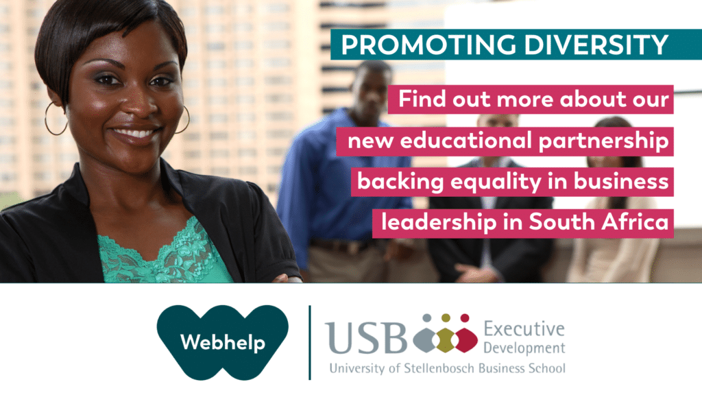 Webhelp South Africa launches unique leadership diversity programme