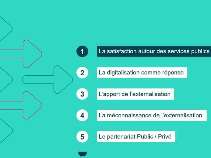 Assises dématérialisation baromètre étude externalisation webhelp secteur public gazette des communes infopro digital