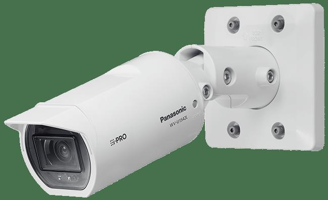 Panasoric security camera wall