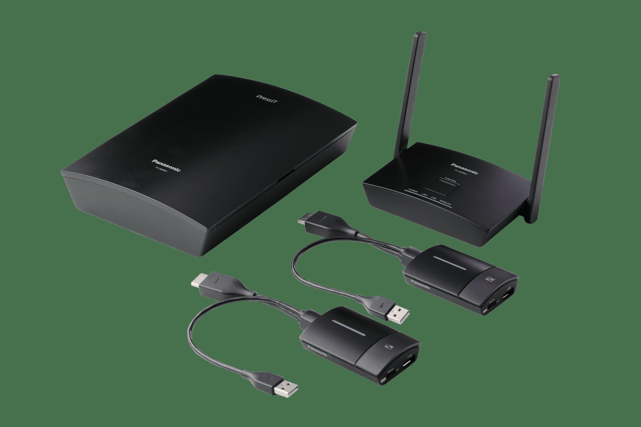 Panasonic Wireless Presentation System_basic_set
