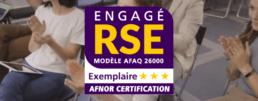 Webhelp obtient le label RSE exemplaire de l'AFNOR