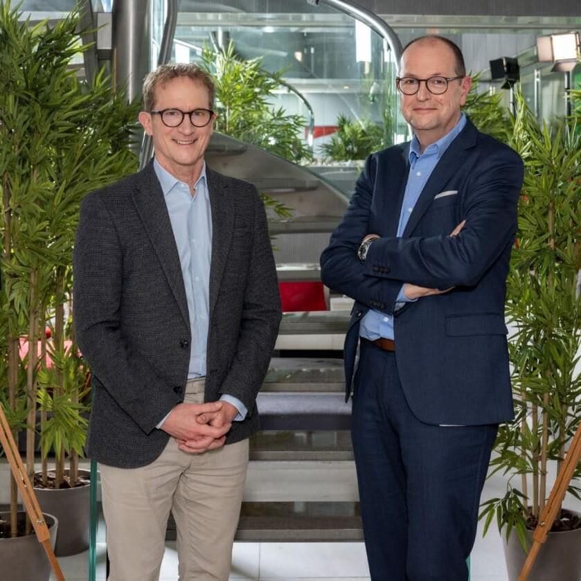 Dirk van Leeuwen et Eric Klipfel Webhelp SoLocal