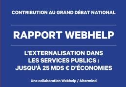 Rapport externalisation relation usager Webhelp Altermind