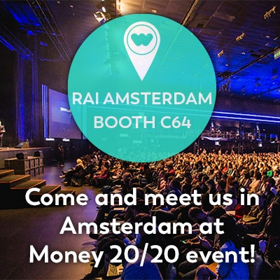 Come meet us in Amsterdam at the Money 20/20 event!